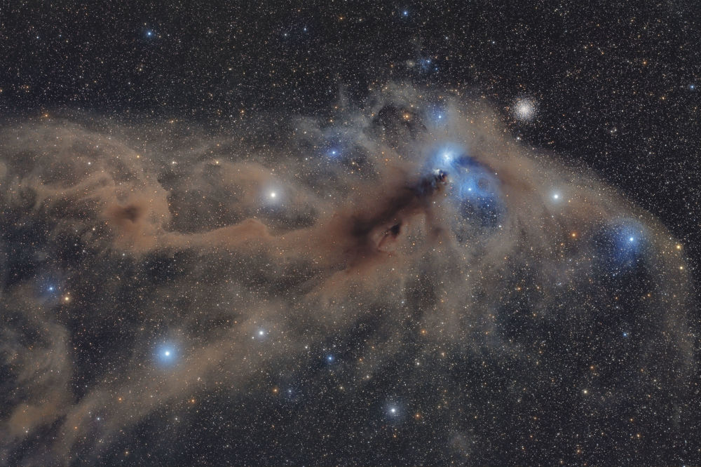 Фото Пылевой комплекс Южной Короны итальянца Марио Кого признали лучшим в категории Звезды и туманности