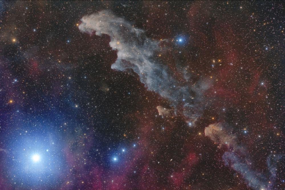 Марио Кого с фотографией Звезда Ригель и туманность Голова Ведьмы — на втором месте в номинации Звезды и туманности