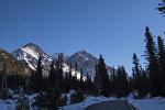 Государственный природный парк Ала-Арча недалеко от Бишкека. Архивное фото