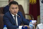 Секретарь Совета безопасности КР Дамир Сагынбаев. Архивное фото