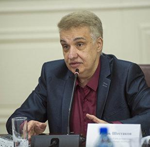 Кыргызстанский политолог Игорь Шестаков. Архивное фото