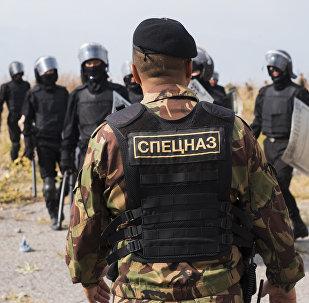 Сотрудники отряда специального назначения. Архивное фото
