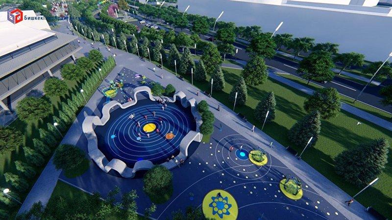В южном планировочном районе Бишкека на пересечении улицы Масалиева и проспекта Чингиза Айтматова появится еще один бульвар