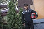 Кыргызстандык 16 жаштагы Улукбек Байзаков. Архивдик сүрөт