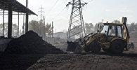 Склад угля в Бишкеке. Архивное фото