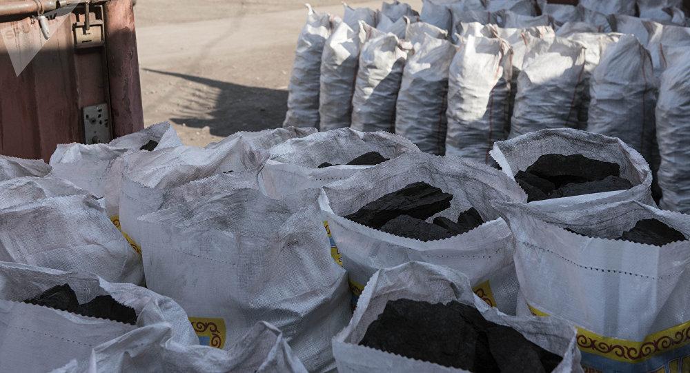 Продажа угля. Архивное фото