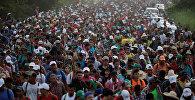 Мексикадан АКШга бараткан мигранттар. Архив