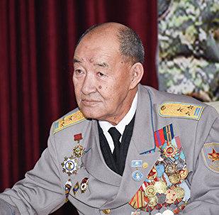 Мусулман батальонунун командири майор, теги казак Борис Керимбаев