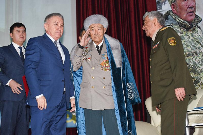 Легенда Вооруженных сил Казахстана, ветеран Афганской войны, командир 177-го отдельного отряда специального назначения главного разведывательного управления генерального штаба СССР, полковник в отставке Борис Керимбаев.
