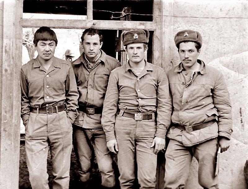 Участники афганской войны. Мусульманский батальон