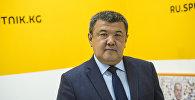 Борбордук шайлоо комиссиясынын төрайымынын орун басары Абдыжапар Бекматов