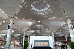 Церемония ввода в строй первого этапа нового аэропорта в Стамбуле