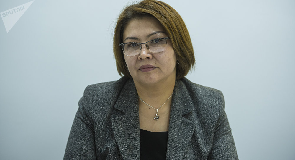 КРдин вице-премьер министри Алтынай Өмүрбекова