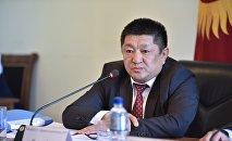 Министр здравоохранения КР Космосбек Чолпонбаев. Архивное фото
