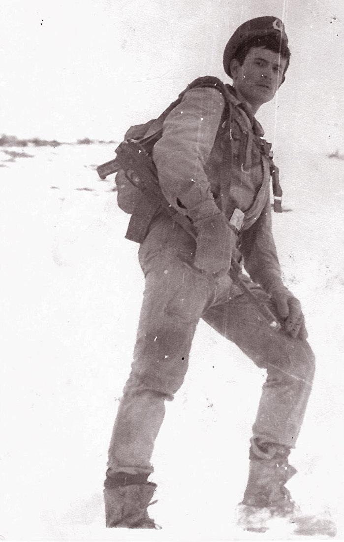 Ветеран афганской войны Сергей Якиманский