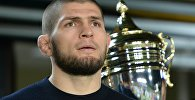 Архивное фото бойца UFC Хабиба Нурмагомедова