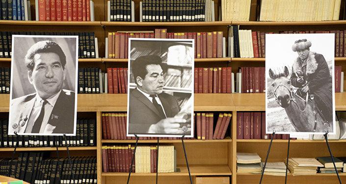 Фотовыставка, посвященная 90-летию писателя Чынгыза Айтматова в библиотеке ООН им. Д. Хаммаршельда в городе Нью-Йорк