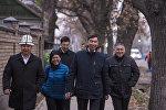 Бишкек шаарынын мэри Азиз Суракматов. Архив