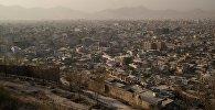 Вид на город Кабул в Афганистане. Архивное фото