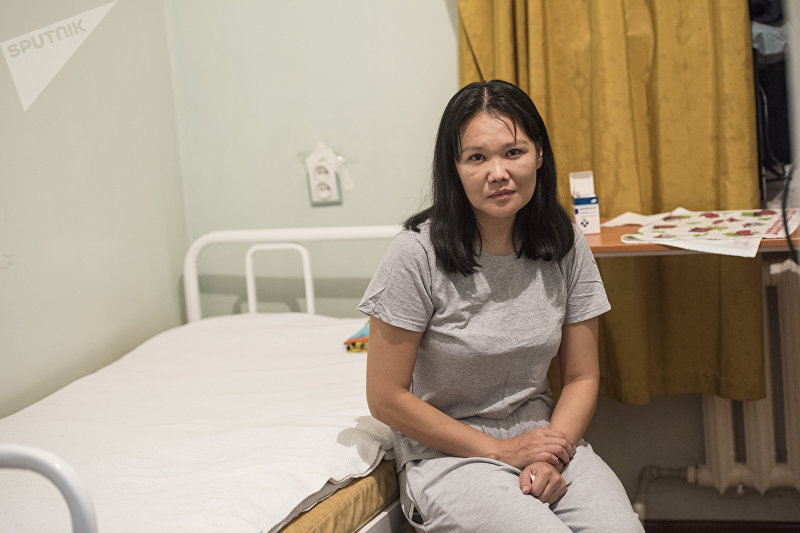 Кыргызстанка Айнура Калиева