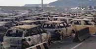 Готовили на экспорт — в Италии при пожаре сгорели сотни новых Maserati. Видео
