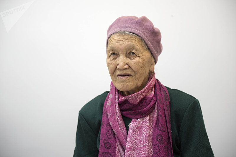 Заслуженный деятель культуры Кыргызстана, журналист Нурила Кожотаева