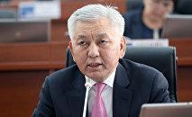 Депутат Жогорку Кенеша Иса Омуркулов. Архивное фото