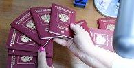 Паспорт гражданина России. Архивное фото