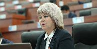 Депутат Ирина Карамушкинанын архивдик сүрөтү