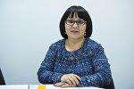 Член Общественного совета при Минздраве, специалист медицинской помощи подросткам и школьникам Бактыгуль Жумакулова.