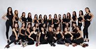 Участницы финала официального конкурса красоты Мисс Кыргызстан — 2018 который пройдет в Бишкеке