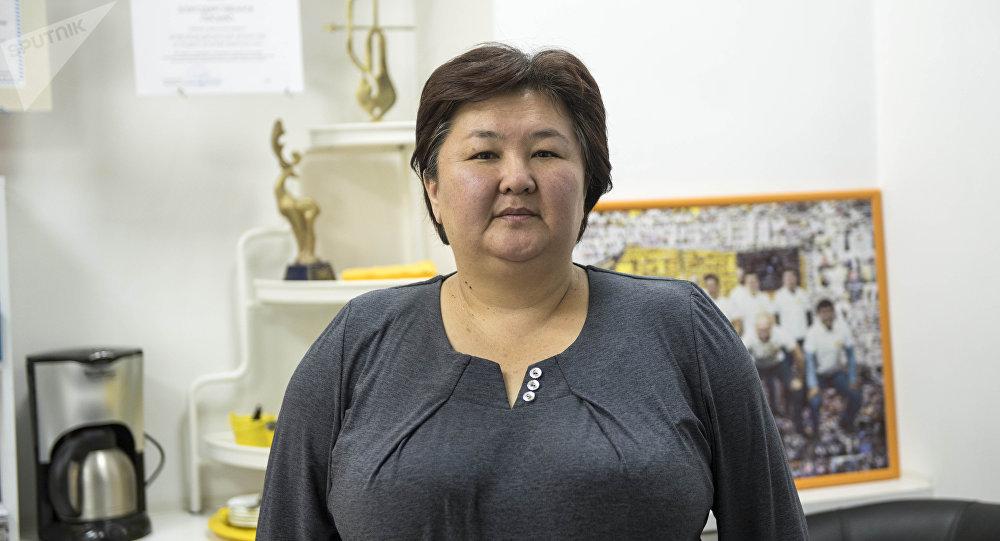 Бүбүсара Бейшеналиева атындагы кыргыз мамлекеттик маданият жана искусство университетинин окуу бөлүмүнүн башчысы Динара Алсеитова