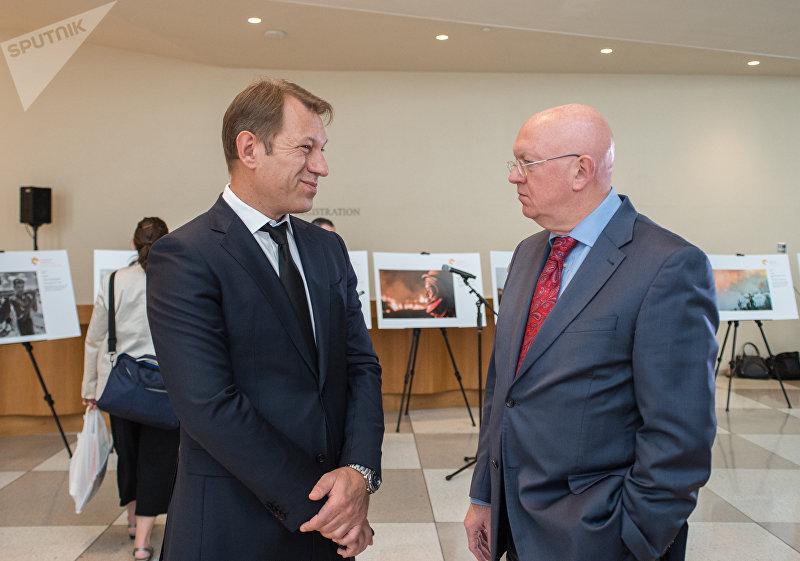 Выставка лауреатов конкурса им. Стенина-2018 в штаб-квартире ООН
