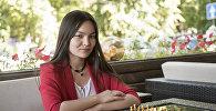 Семикратная чемпионка КР по шахматам Диана Омурбекова
