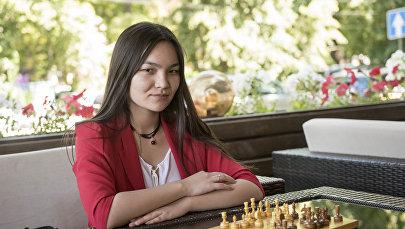 Шахмат боюнча Кыргызстандын жети жолку чемпиону Диана Өмүрбекова