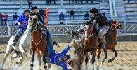 Чемпионат КР по кок-бору в Оше