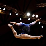 Спортивная гимнастика. Чемпионат мира. Женщины. Командное многоборье