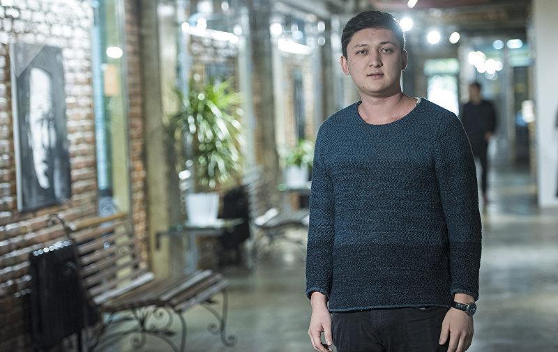 Кыргызский 22-летний предприниматель Стам Маматысаев