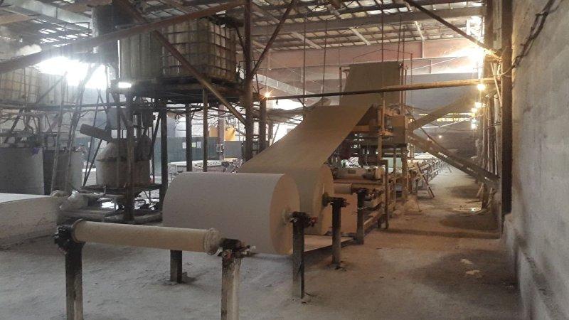 Завод по производству гипсокартона кыргызстанского предпринимателя Айтмагомеда Исмагомбетова