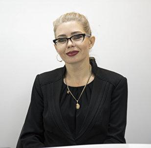 Американская поэтесса кыргызстанского происхождения Татьяна Синдеева
