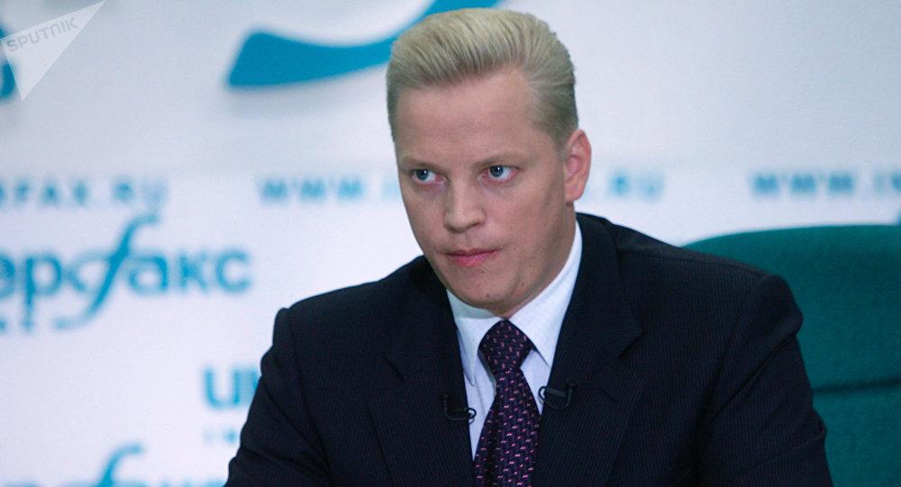 Российский тележурналист Эрнест Мацкявичюс. Архивное фото