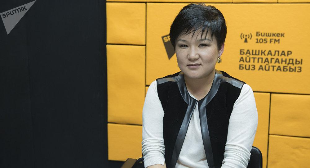 Начальник Управления пенсионной и тарифной политики Социального фонда Кыргызстана Жылдыз Кулжанова