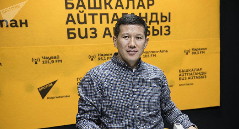 Кыргызстандагы эл аралык бейтарап сотунун инвестициялык талаш-тартыштар боюнча директору Жоомарт Жолдошев