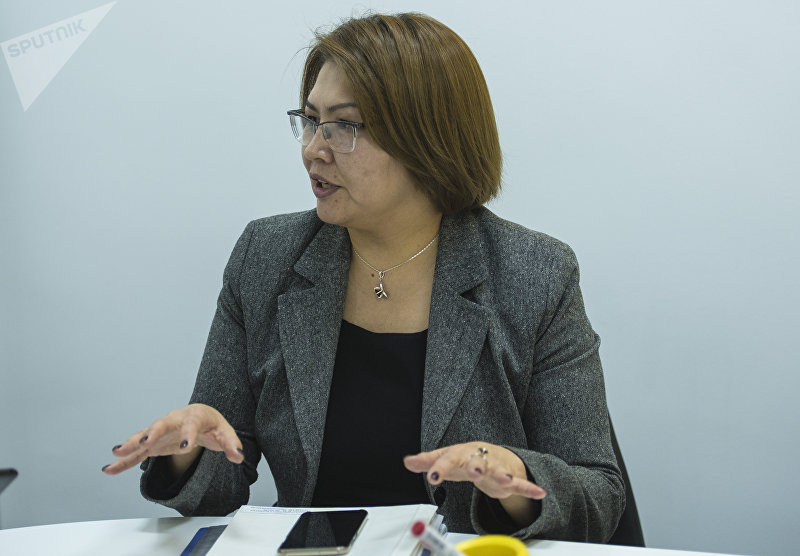 Вице-премьер-министр КР Алтынай Омурбекова