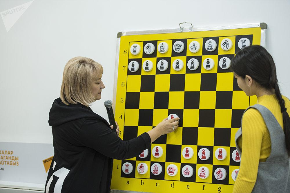 Шахматный турнир среди представителей СМИ, посвященный Дню информации и печати КР