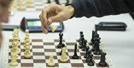 Игра в шахматы. Архивное фото