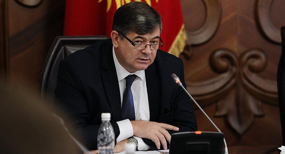 Экономика министри Олег Панкратовдун архивдик сүрөтү