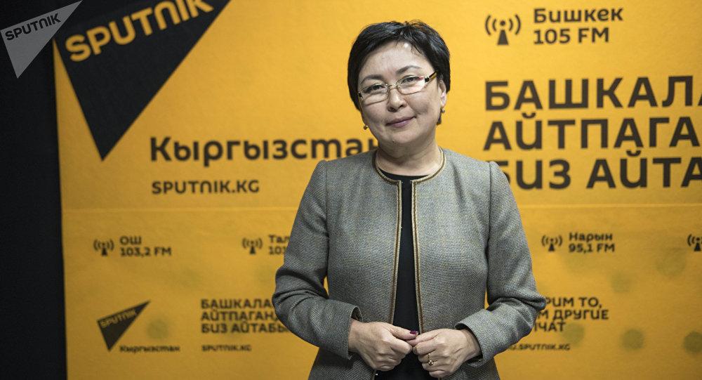 Министр образования КР Гульмира Кудайбердиева