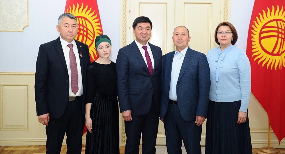Награждение журналистов правительством КР