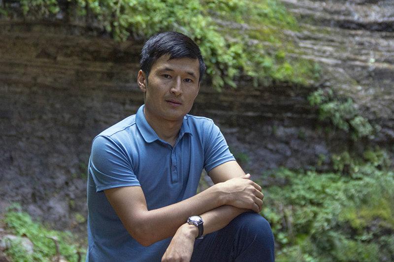 Журналист радио Азаттык Улан Эгизбаев на отдыхе